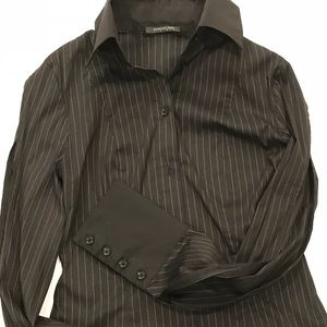 Patrizia Pepe shirt with split sleeves